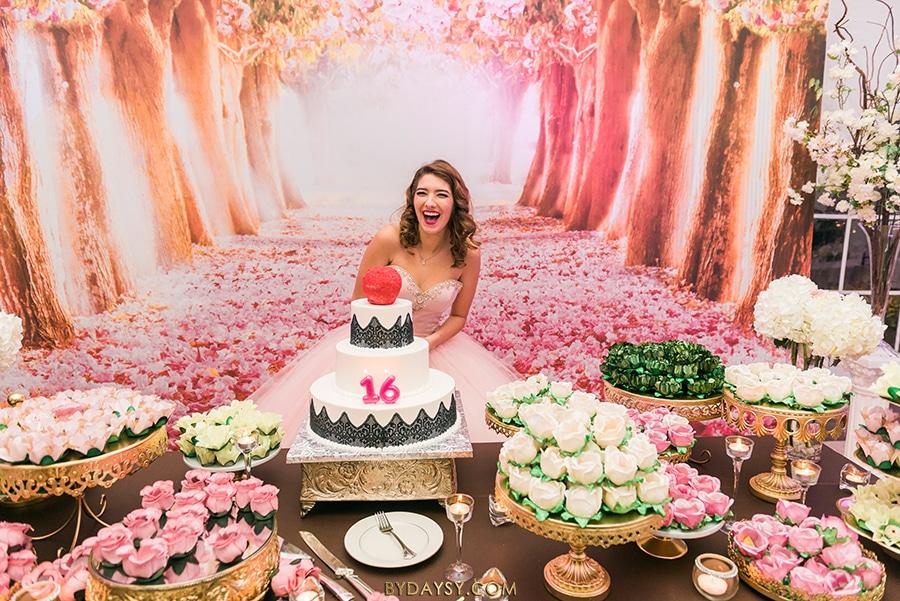 Sweet 16 and wedding venue